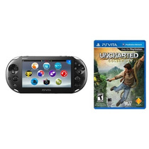 Psvita Ps Vita Wi-fi Slim + Game Uncharted Golden Abyss
