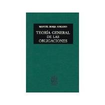 Libro Teoria General De Las Obligaciones *cj