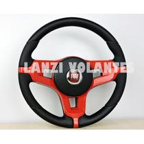 Volante Esportivo Mustang Palio Siena Uno Strada Vermelho +