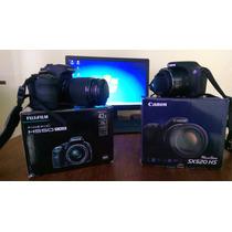 Camara Fujifilm Hs50 16mp 42x Y Canon Sx520hs 16 Mp 42x