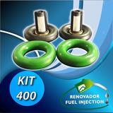 Ki 400: Limpieza 2 Inyectores Motos Alta Cilindrada Viton