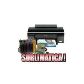 Impressora Epson T33 Sublimatica Com Bulk Obs: Trocar Chip