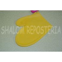 *guante De Silicon Amarillo Porta Caliente Hornear Pastel*