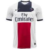 Camisa Paris Psg Nike Branca Away 2014/2015 Original