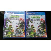 Plantas Vs Zombies Garden Warfare Ps4 Nuevo, Sellado