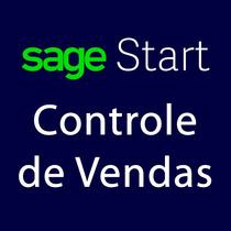 Sistema Controle De Vendas - Sage Start Pronta Entrega