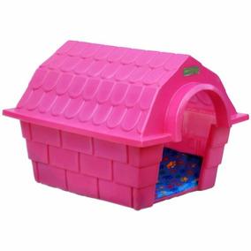 Casinha Dog House Grande - Rosa