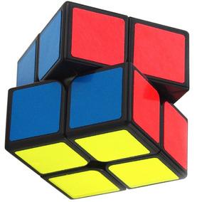 Cubo Rubik Shengshou 2x2 Aurora Base Negra J1031