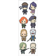 Plancha De Stickers De Anime De Metal Gear Solid Snake