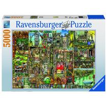 Rompecabezas Ravensburger 5000 Piezas Bizarre Town Lelab