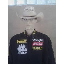 Camisa Rodeio Stanley Dwalt Brahma Wrangler Preta