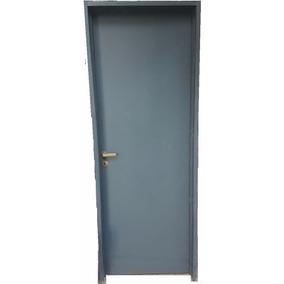 puerta placa oblak mdf marco chapa derech tabique yeso