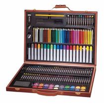 Set De Pintura Artistica Kit Dibujo Marcadores Colores