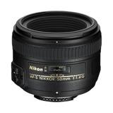 Nuevo Nikon Af-s Nikkor 50mm F / 1.4g Autofocus Lente
