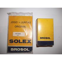 Kit Juntas E Boia Carburador Solex 31 Pict Fusca Exportacao