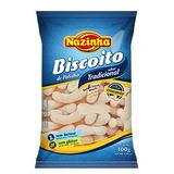 Biscoito De Polvilho S/ Glúten Nazinha Tradicional 100g