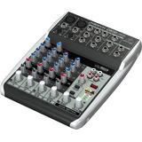 Consola Mixer Behringer Xenyx Q802 Usb Entrada Usb 6 Canales