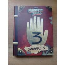 Diario Libro Gravity Falls 3 Original +
