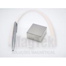 Bloco Super Imã Neodímio Extraforte 50,8mmx50,8mmx25 4mm