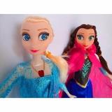 Kit Com 2 Bonecas Frozen Princesa Musical Elsa E Anna + Olaf