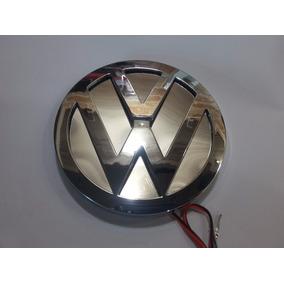 Emblema Volkswagen Led 3d Fundo Infinito