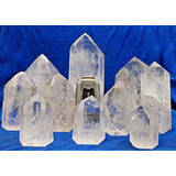 2 Kg Cristal Lapidado Gerador Sextavado Comum Transparencia
