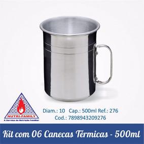 cca731b6d Caneca Aluminio Colorida 500ml - Bar e Petiscos no Mercado Livre Brasil