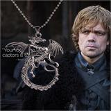 Juego De Tronos Collar Insignia Targaryen Dragón