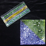 2 Bandejas Vitrofusión Cristal Soplado De Diseño - No Envío