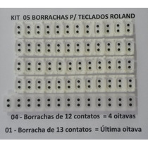 Borracha Roland Modelo E66,e56,e96,e86,em1m,em7b,va3,va5,va3