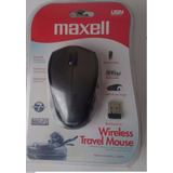 Mouse Maxell Wireless Travel Negro