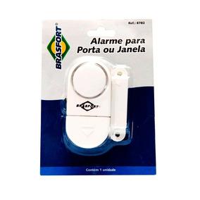 5 Alarmes Contra Invasão Sonoro Porta Janela S/ Fio Pilhas
