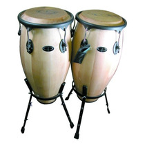 Juego De Congas Gp Percussion Maple 10 In Y 11 In