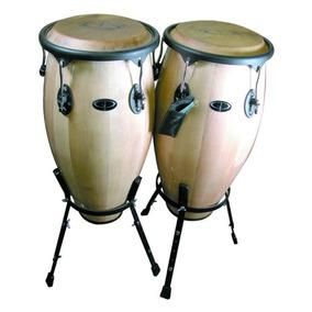Juego De Congas Gp Percussion Maple 10 In Y 11 In
