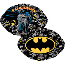Globo Batman Paquete 10 Pzas 9 Pulgadas Centro De Mesa