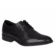 Zapatos Vestir Oxford Bostoneanos Negro Envío Gratis