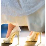 Sapato Jimmy Choo Noiva Casamento 38 Modelo Salt Marfim
