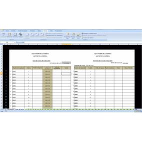 Formato Calculo De Utilidades Lottt