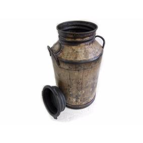 Galão De 50 Litros Tambor Antigo De Leite