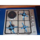 Tope De Cocina Bacco A Gas Y Electrico 60 Cm