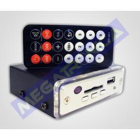 Reproductor Cargador Modulo Lector Usb Sd A 12v Auto Moto