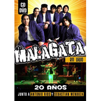 Malagata - En Vivo 20 Años ( Dvd + Cd )