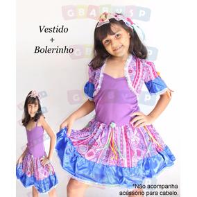 Vestido Junino Festa Junina Caipira Infantil - Promoção