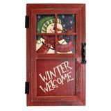 Muñeco De Nieve, Mirar, Afuera, Puerta, Venta + Envio Gratis