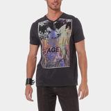 Camiseta Gola V Lee Neck Asp Original!!!