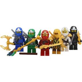Set Sw7 Zane Kai Jay Lloyd Cole Ninjago Compatible Con Lego