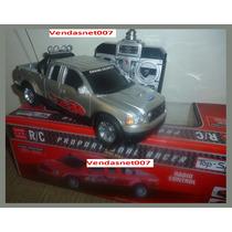 Carrinho Controle Remoto Carro Estilo Camionete 4x4 22x8,5cm