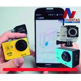 Camara Deportiva Wifi 12mpx Hd 1080p Sumergible 30mts Go Pro