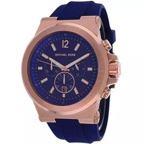 Relógio Michael Kors Mk8295 Masculino Azul Original C879