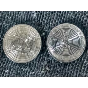 2 Monedas Prueba De Cuño Casa Moneda Chile
